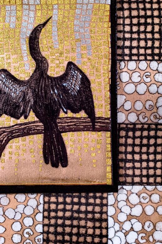 Anhinga Snakebird (Detail)