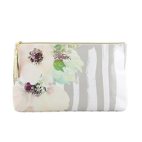 OIL CLOTH BAG - LARGE - FLORAL