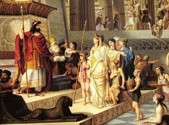 שלמה המלך ומלכת שווה