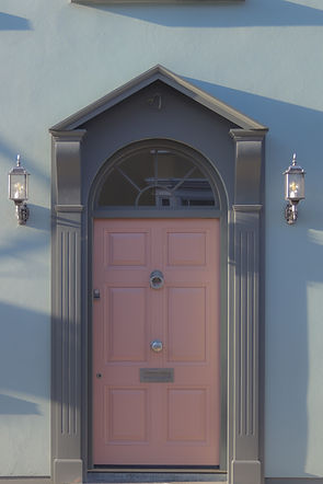 Accoya front door