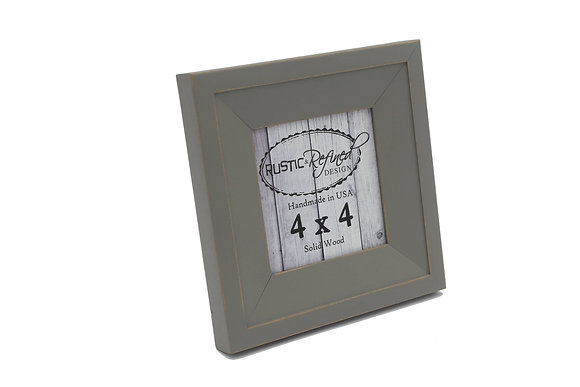 4x4 Haven picture frame - Grey Green
