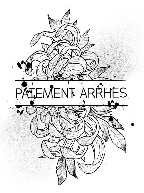 PAIEMENT ARRHES