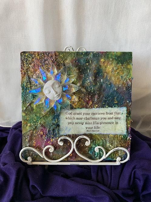 Religious Decorative Handmade Plaque