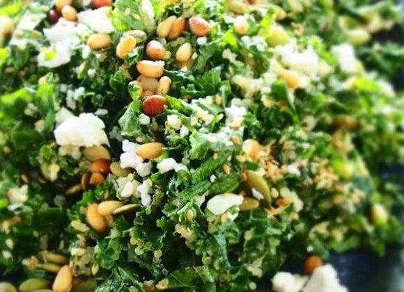 Baby Kale Salad (GF) - Serves 4