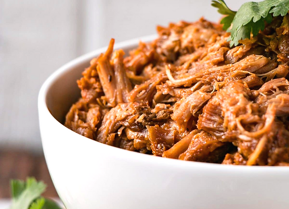 Smoked Pulled Pork ~ Serves 4