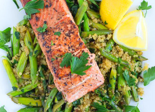 Pan Seared Salmon (GF) ~ Serves 4
