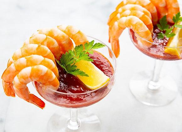 Shrimp Cocktail (GF) ~ Serves 1