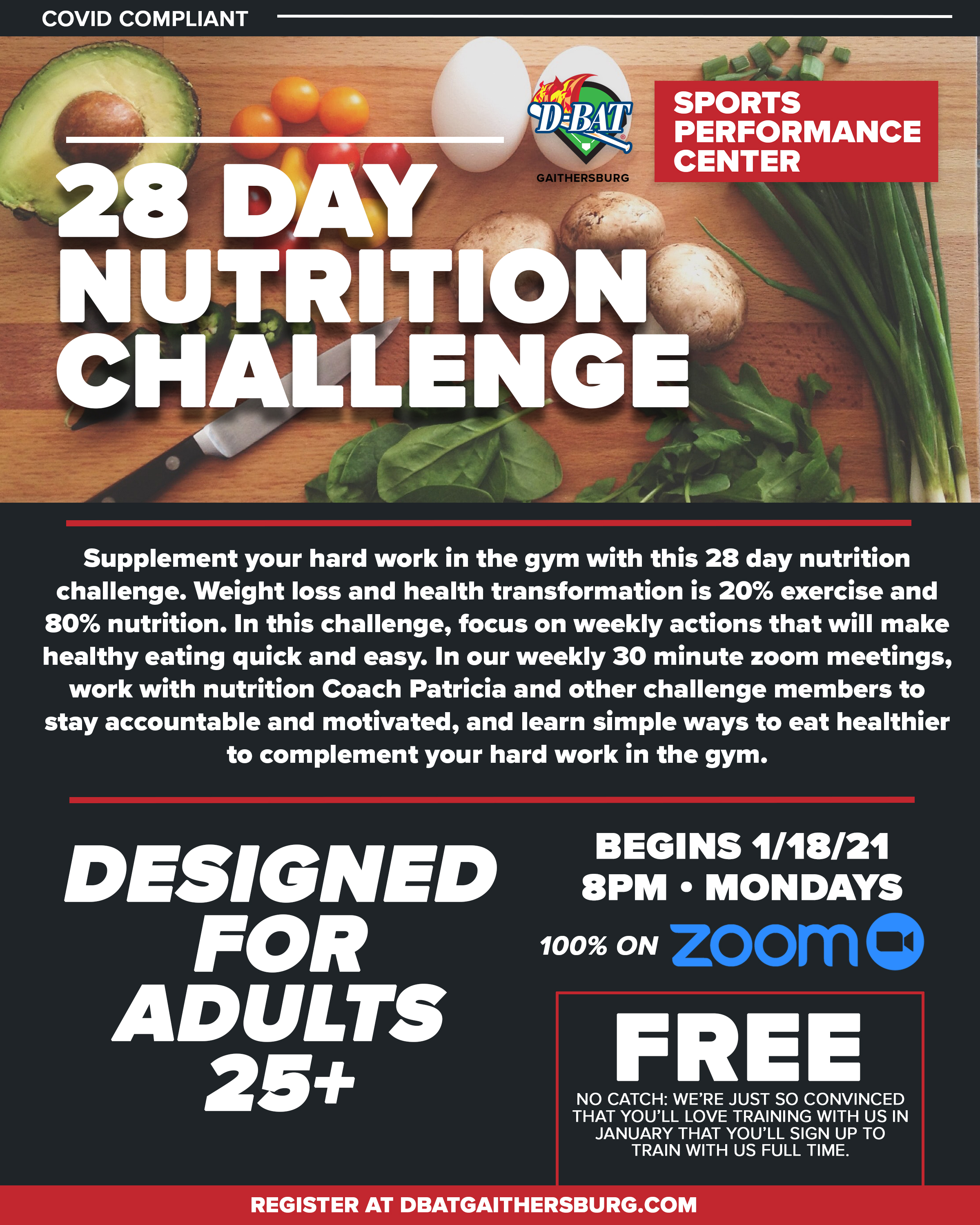 28 Day Challenge - Click to register