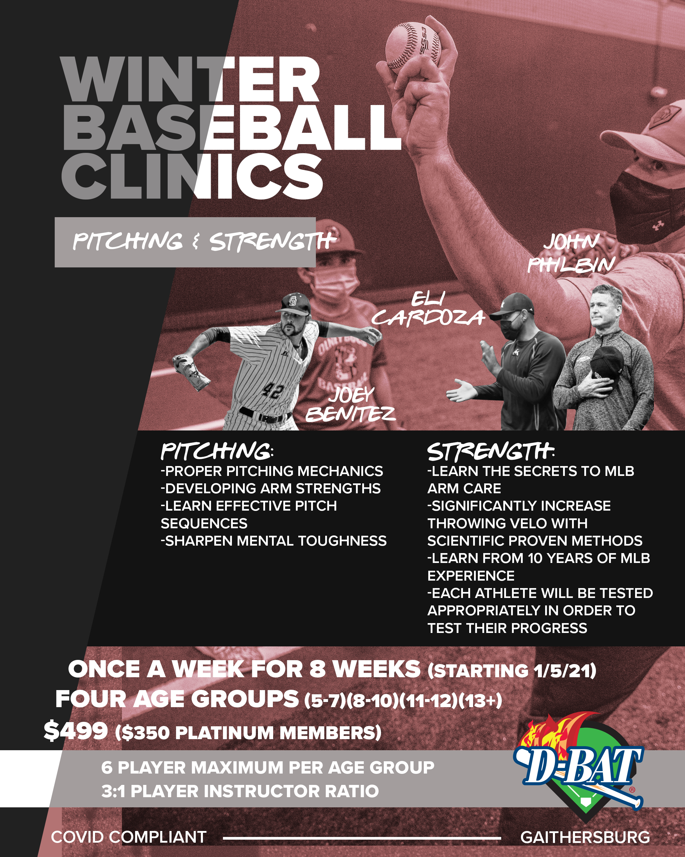Pitching & Strength - Click to register