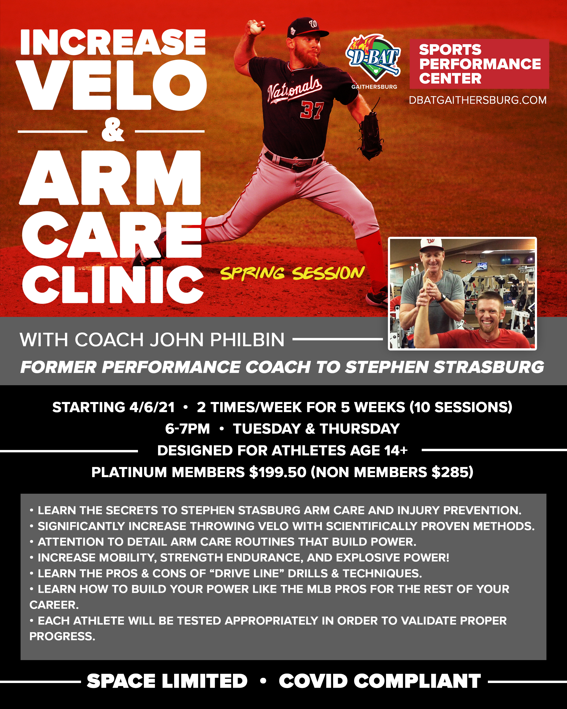 Arm Care - Click to register