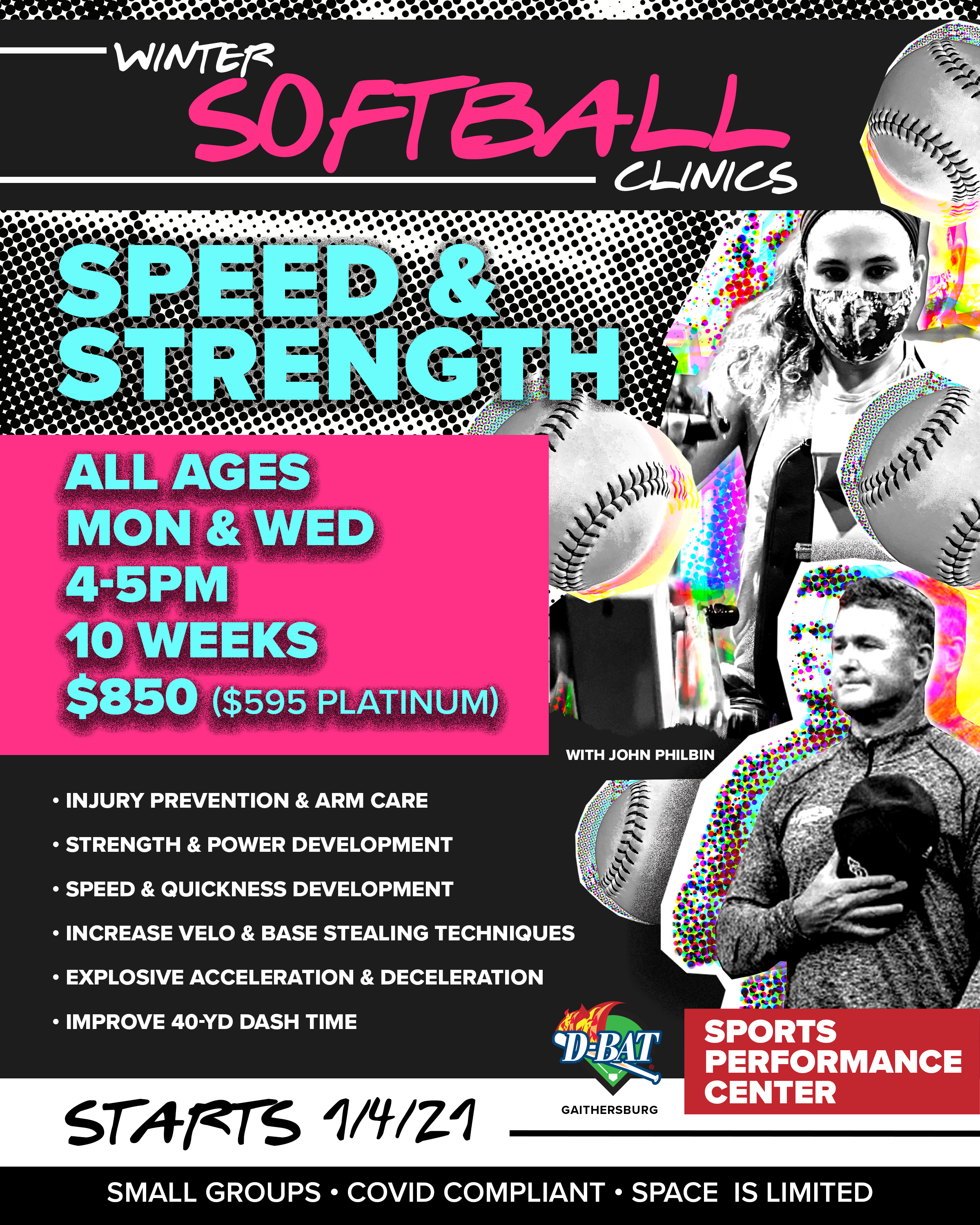 Speed and Strength - Click to register