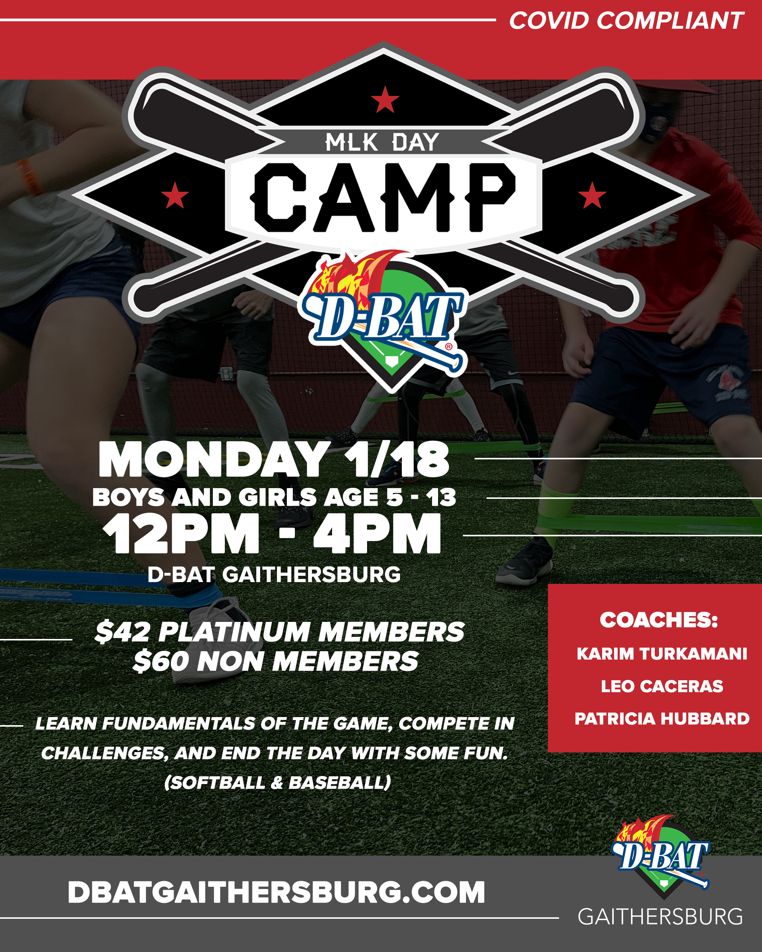 MLK Day Camp - Click to register