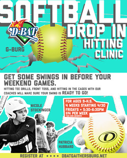 Softball Drop In - Click to Register