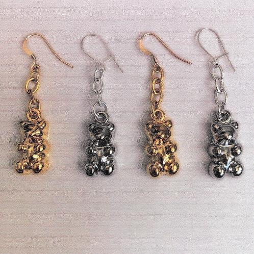 Chummy Bear Earrings