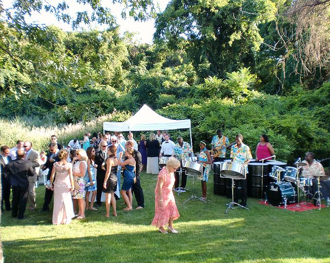 Backyard Party in East Long Island