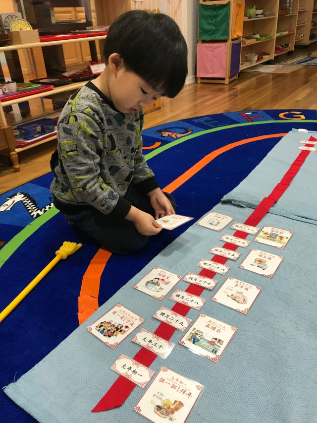 Montessori culture: Lunar new year