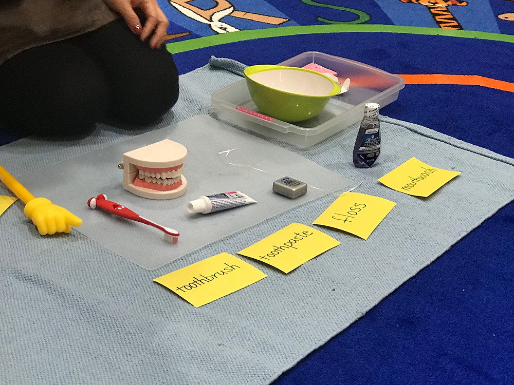 Montessori Circle Time: teeth health