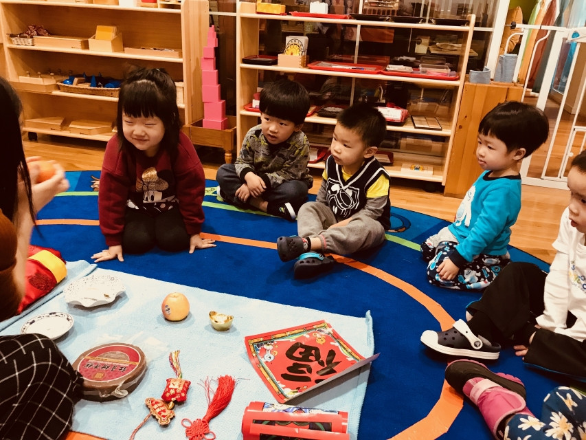 Montessori culture: Lunar new year goods