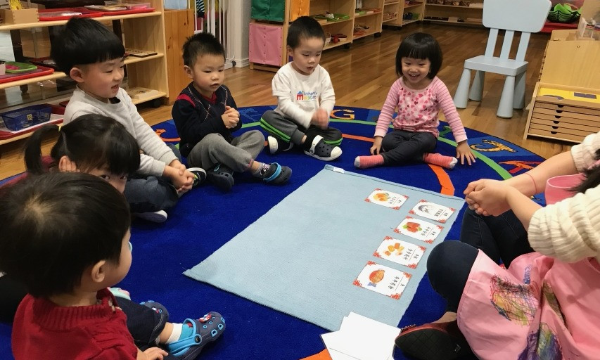 Montessori culture: Lunar new year food and wishes