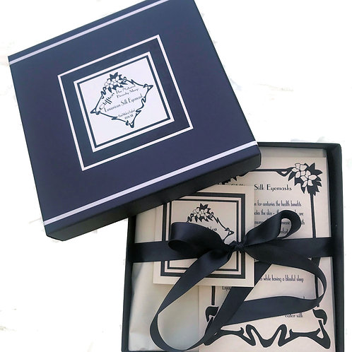 Boxed Silk Eye Mask