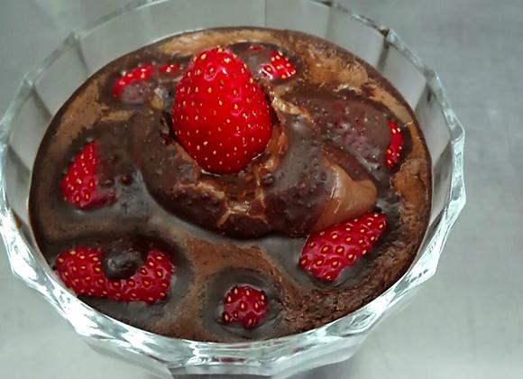 Sladoled Čokolada Jagoda