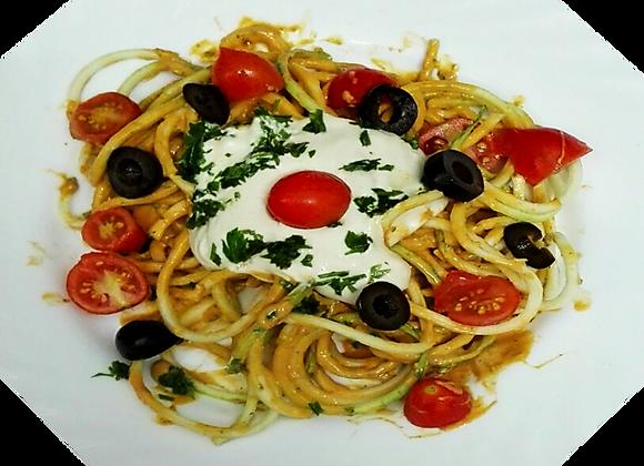 Špageti Tikvice