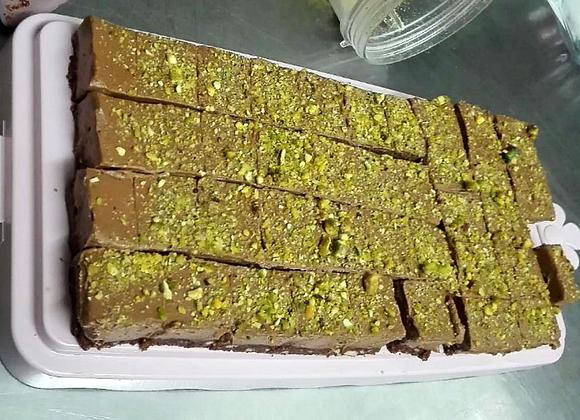 Čokoladne Kocke s Pistacijom