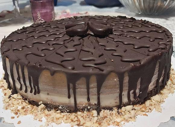 Snickers Raw Torta