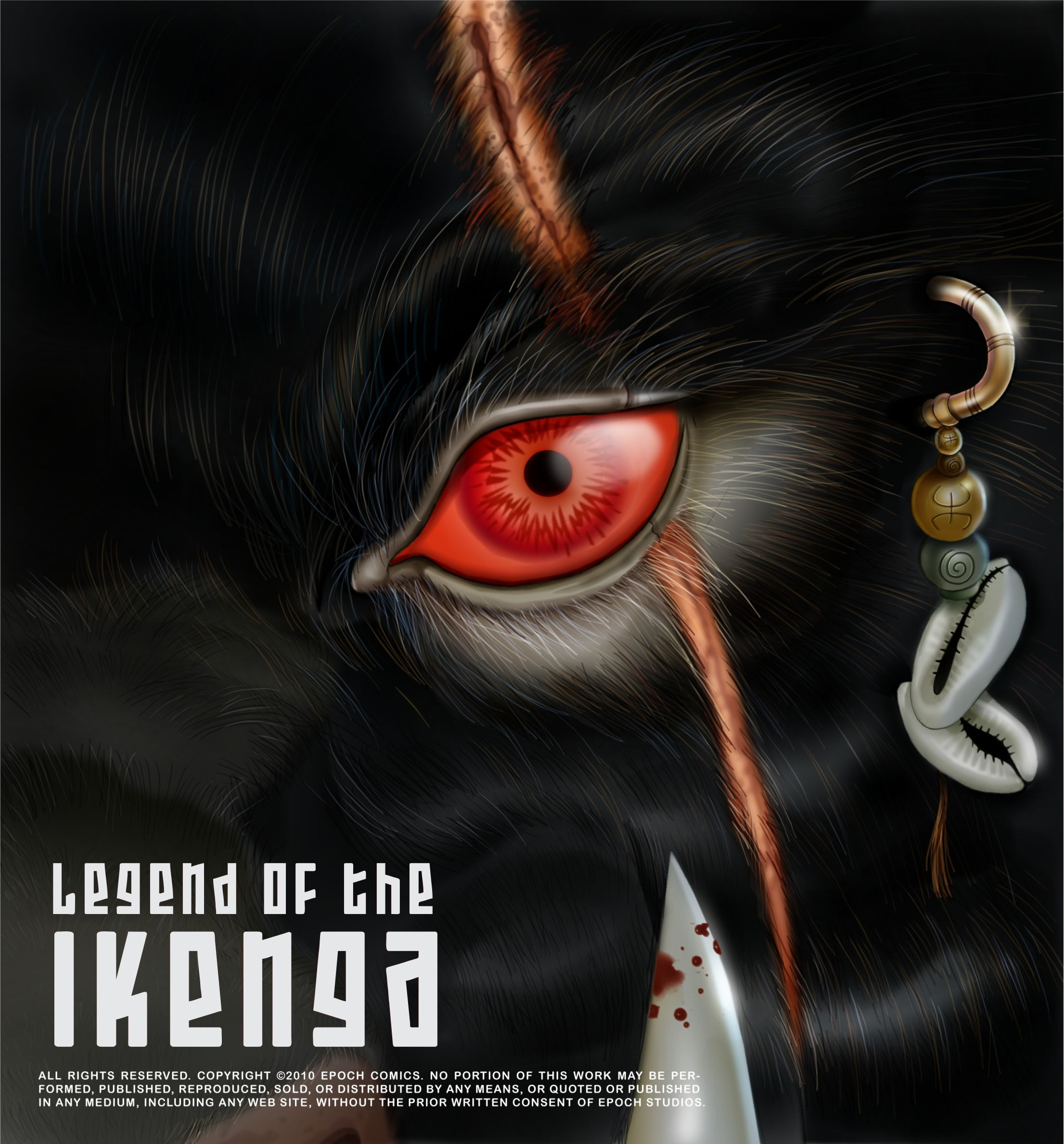ikenga graphic novel cover art