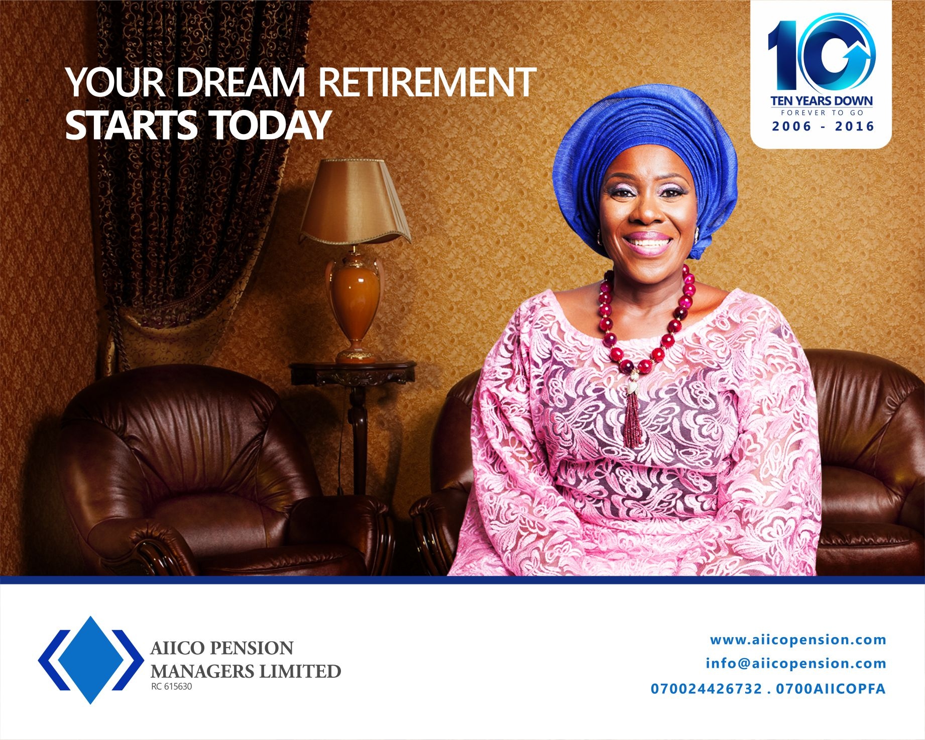 OOH Ad for AIICO Pension