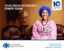 OOH Ad for AIICO Pension