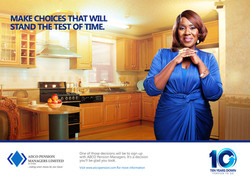 Print Ad for AIICO Pensions