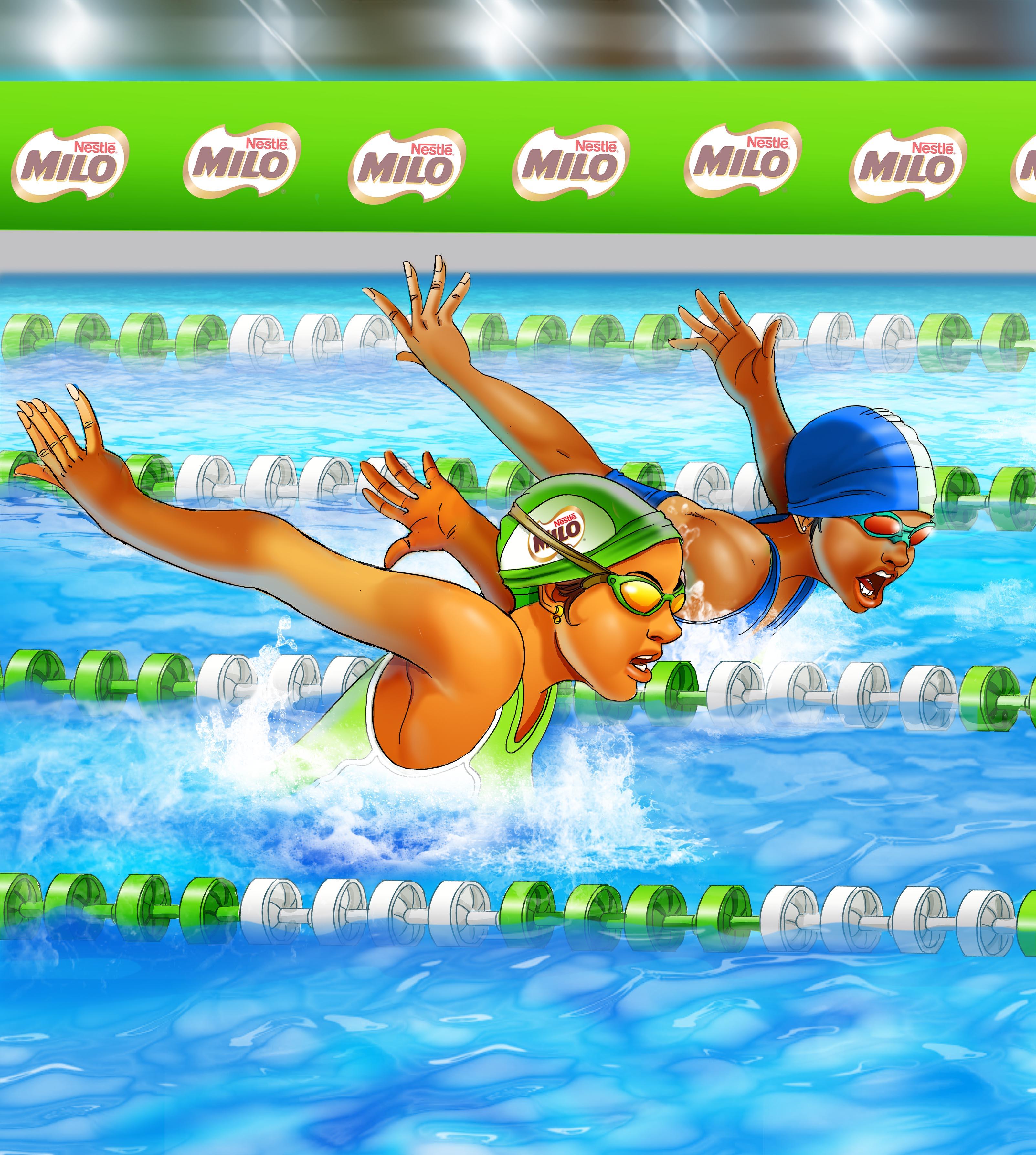 swimming 2.