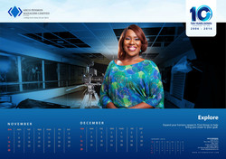 AIICO Pension 2017 Calendar design