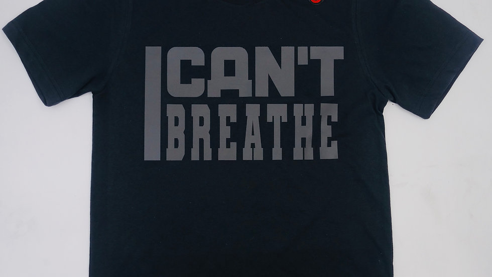 """BLACKOUT 3M REFLECTIVE """" I CAN'T BREATHE"""" TEE"""