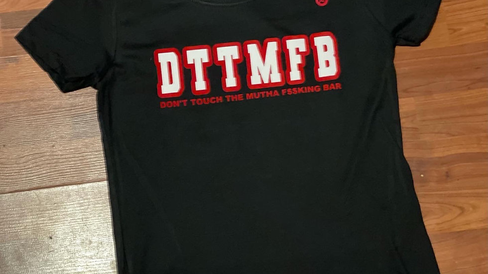 DTTMFB WOMEN'S CUT (BLACK)