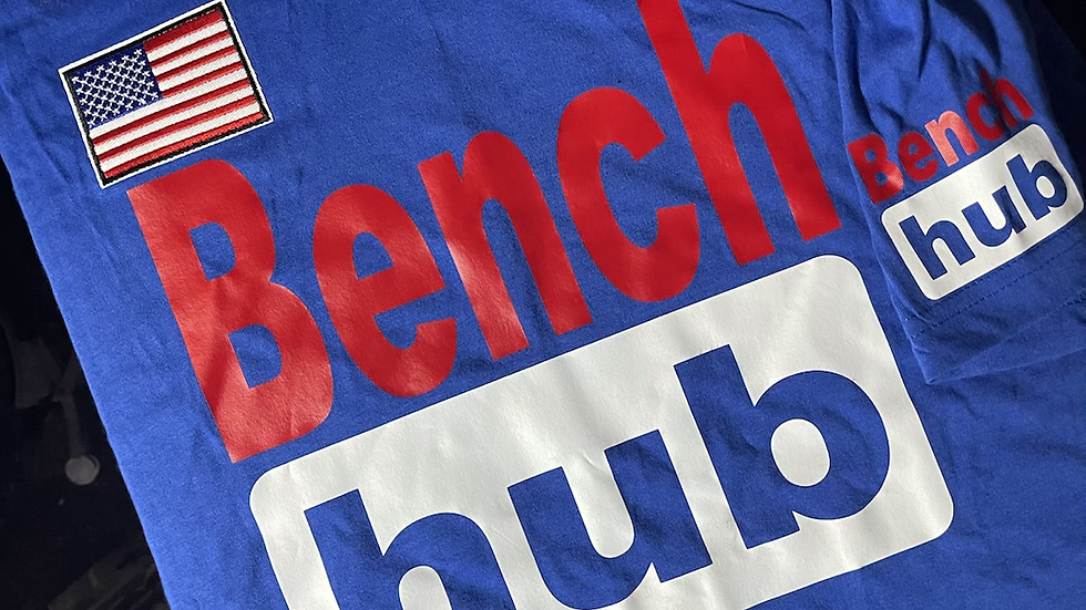 Bench Hub BLUE (USA) PREMIUM TEE