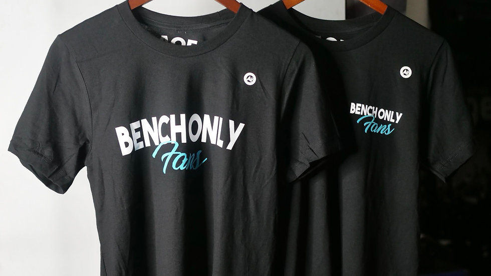 BENCH ONLY FANS BIG FRONT (BLACK)