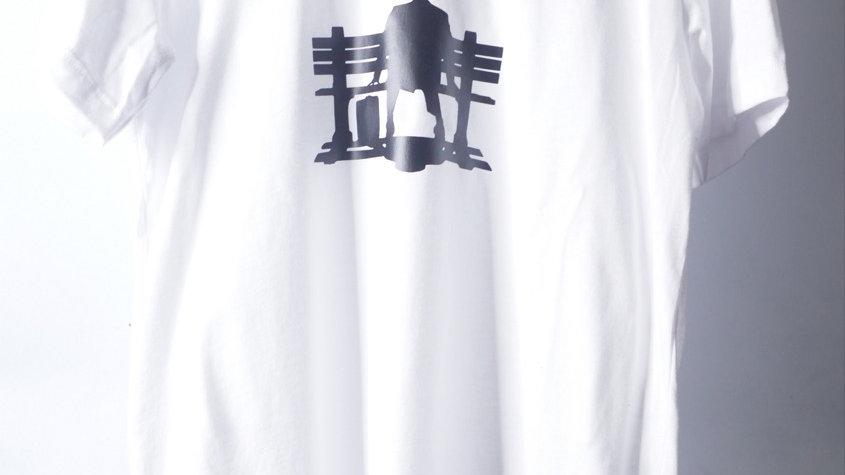 BENCH LEGEND GUMP (FRONT) WHITE
