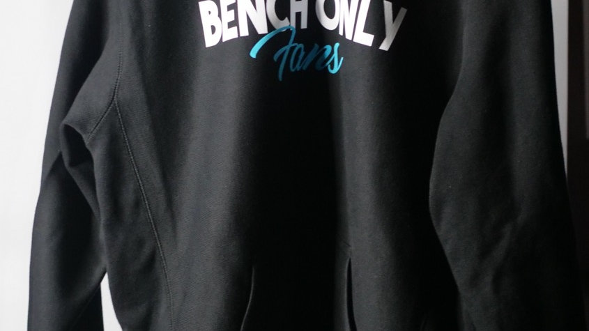 Premium BENCH ONLY FANS HOODIE (BLACK)