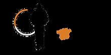 Logo Landscape Overlapping - Black Man [