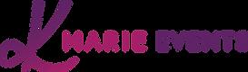 RP212 K Marie Events.Logo.V1.3_Horizonta