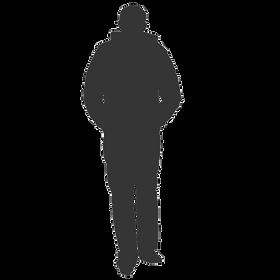 Man Silouhette Transparent - Grey Final.