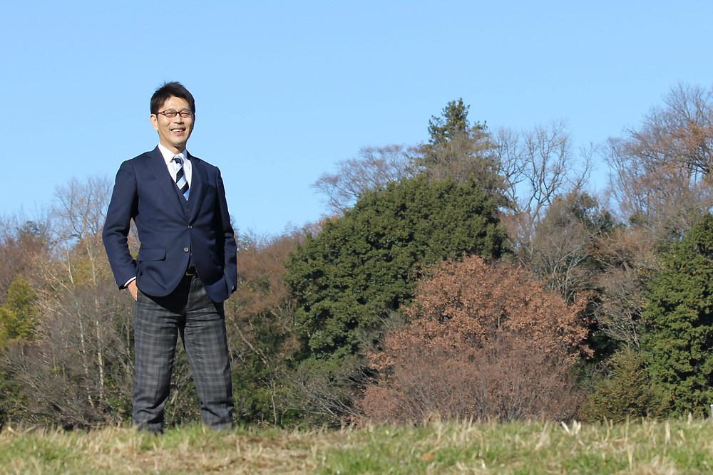 武蔵野公園にて