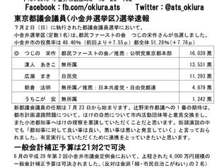 vol.8 平成29(2017)年6月定例会報告