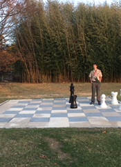 Chess Board with Aaron Brethower