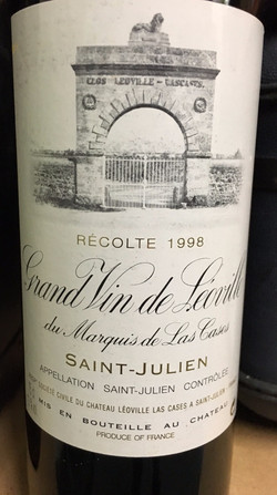 Grand Vin de Léoville de Cases 1998