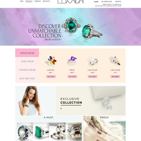 Ecommerce Website - EEKABA