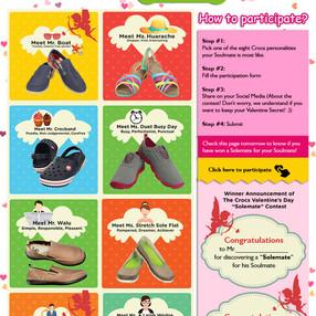 Web Page Design - Crocs