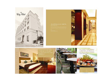 Brochure Design and Photography - The City Club